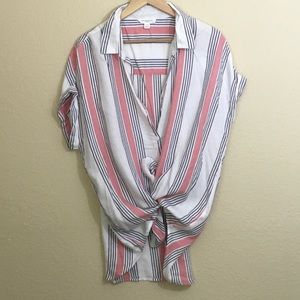 Beach Lunch Lounge Button Up